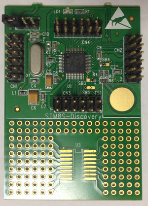 Stm8sdiscovery